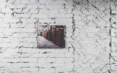 Foto aan je muur